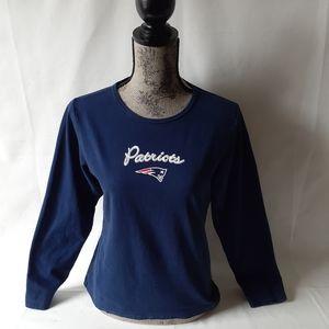 New England Patriots women's long sleeve top